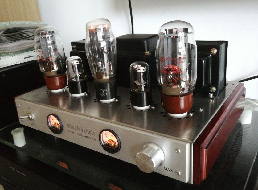 OldBuffalo KT66 Tube Amplifier HIFI EXQUIS Lamp Amp with UV meter