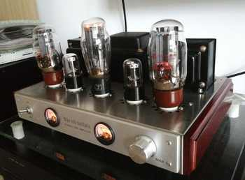 OldBuffalo KT66 Tube Amplifier HIFI EXQUIS Lamp Amp with UV meter - DISCOUNT ITEM  15 OFF Consumer Electronics