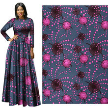 Geometric Patterns of Plain African Nationality All-terylene Printed Clothing Fabric  fabric for dress african wax print