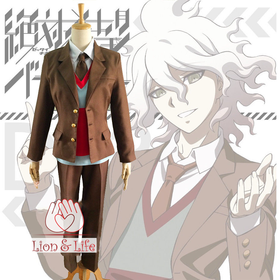 Danganronpa Ultra Despair Girls Komaeda Nagito Uniform Cosplay Costume