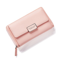 Fashion Zipper Wallet Women Multi Function Long Wallet Purse Chain Ladies Crossbody Bags Big Capacity Card Holder bags