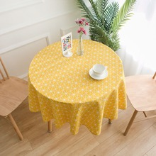 Geometric Round Table Cloth Round Tablecloth Nappe Table Cover Party Wedding Table Cloth for Home Table Decoration Mantel Party цена 2017