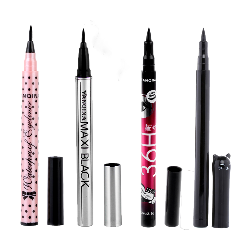 NEW Cat Style 1Pc Black Waterproof Eyeliner Liquid Long Lasting Eye Liner Pen Pencil Makeup Cosmetic Beauty High Quality