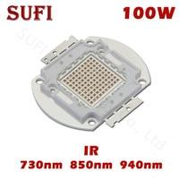 High Power 100W LED Chip IR 730Nm 850Nm 940Nm Emitter Light Lamp Beads Infrared Radiation Bulb Laser Night Vision Camera