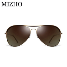 Anti-Reflective Eyewear HD Visual Protection Sunglasses Men Polarized MIZHO Waterproof and Oil Luxury Sun Glasses Women PILOTT