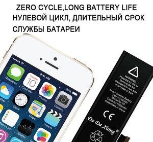 Image 3 - Orijinal Da Da Xiong pil iPhone 5C 5S 5GS 1560mAh gerçek kapasite makine araçları kiti ile yedek piller