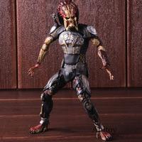 2018 The Predator NECA Action Figure Fugitive Predator Ultimate PVC Collectible Model Toy