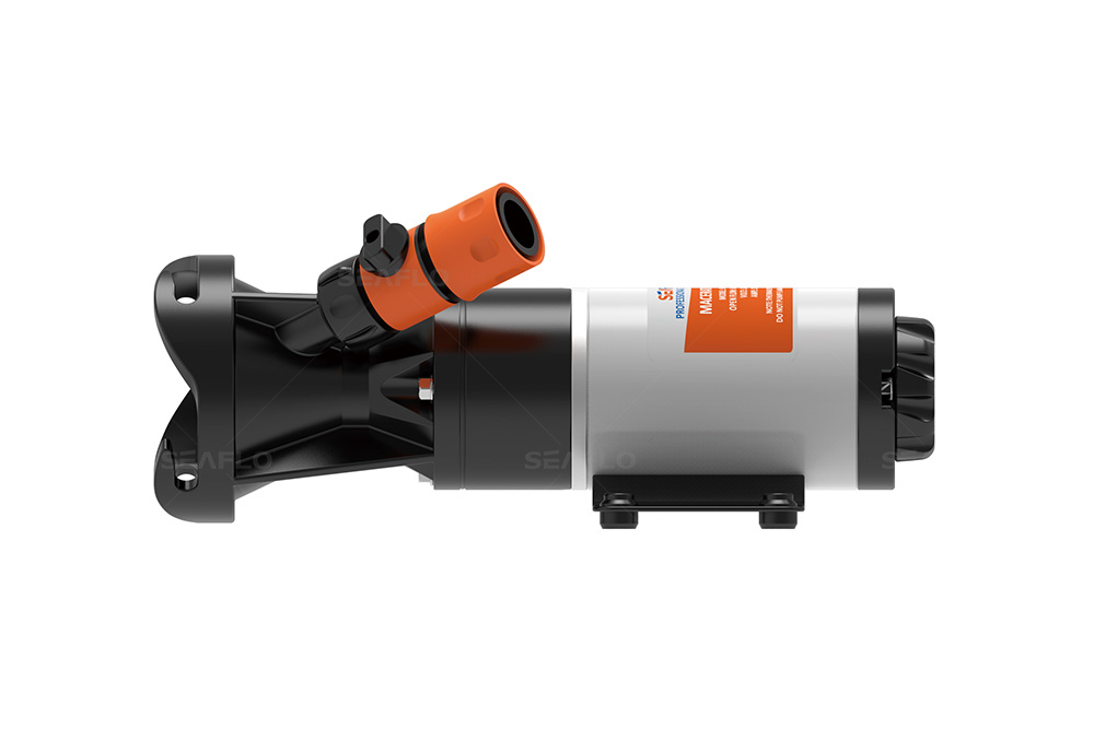 Macerator Pump SEAFLO 12 GPM 12V Waste Pump for Macerating Toilet Marine RV Unlike Jabsco Shurflo Rule