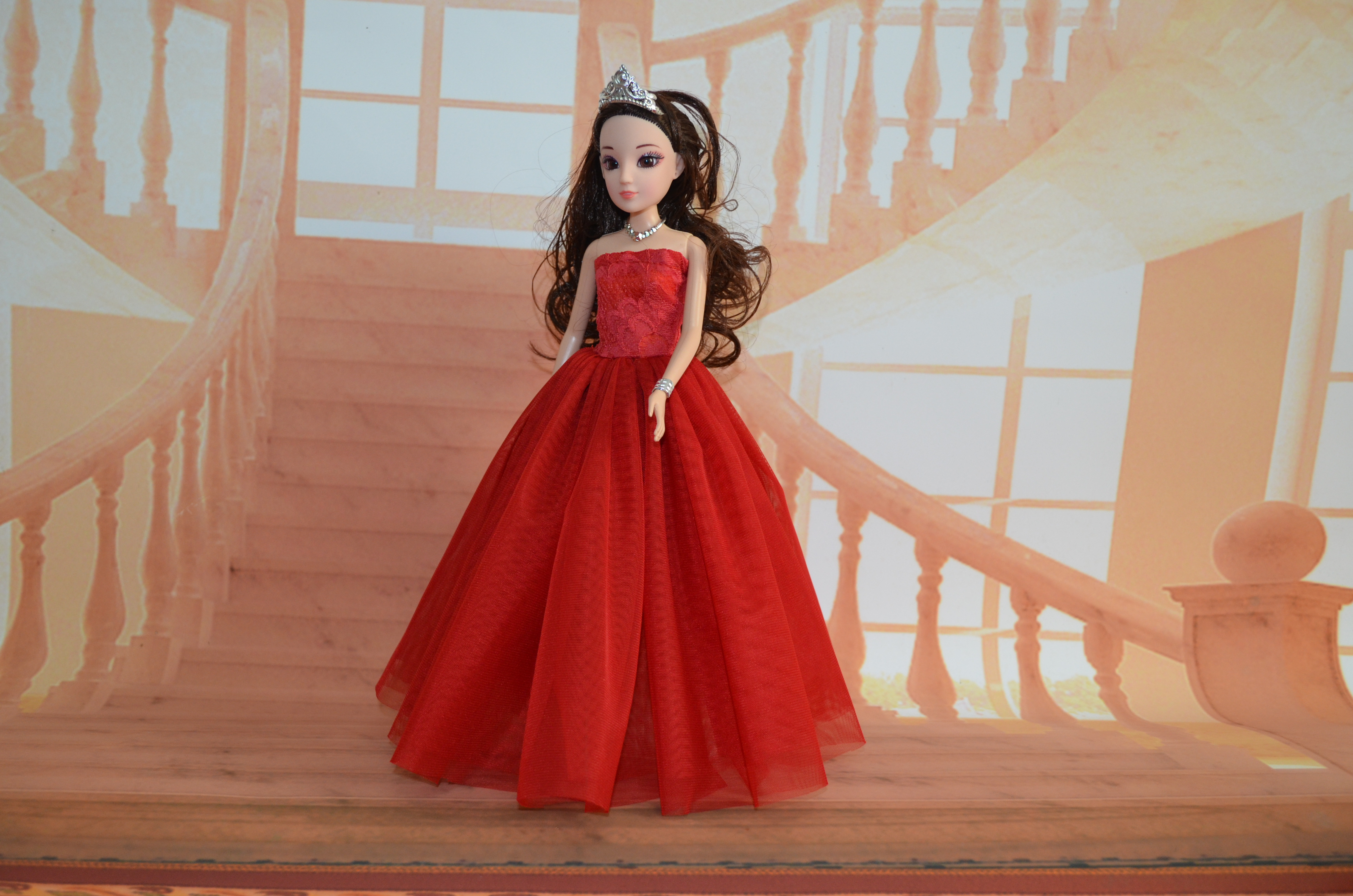 Cheap wedding dress for Barbie doll children princess dress can be a variety of clothing apparel wholesale