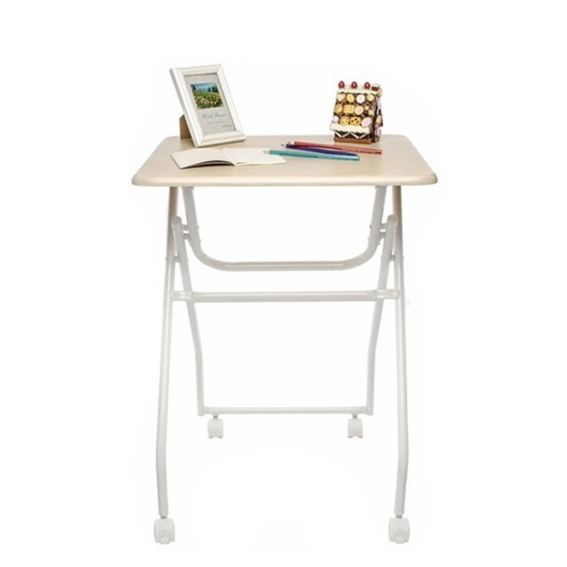 X#6464 Yu furniture notebook comter desk with folding table roller FREE SHIPPING rosenberg 6464