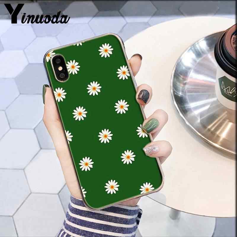 Yinuoda טבע פרחי אביב חמוד פרחוני אסתטי PhoneCase iPhone6S 6 בתוספת 7 7 בתוספת 8 8 בתוספת X XsMAX 5S XR 11 11pro 11promax
