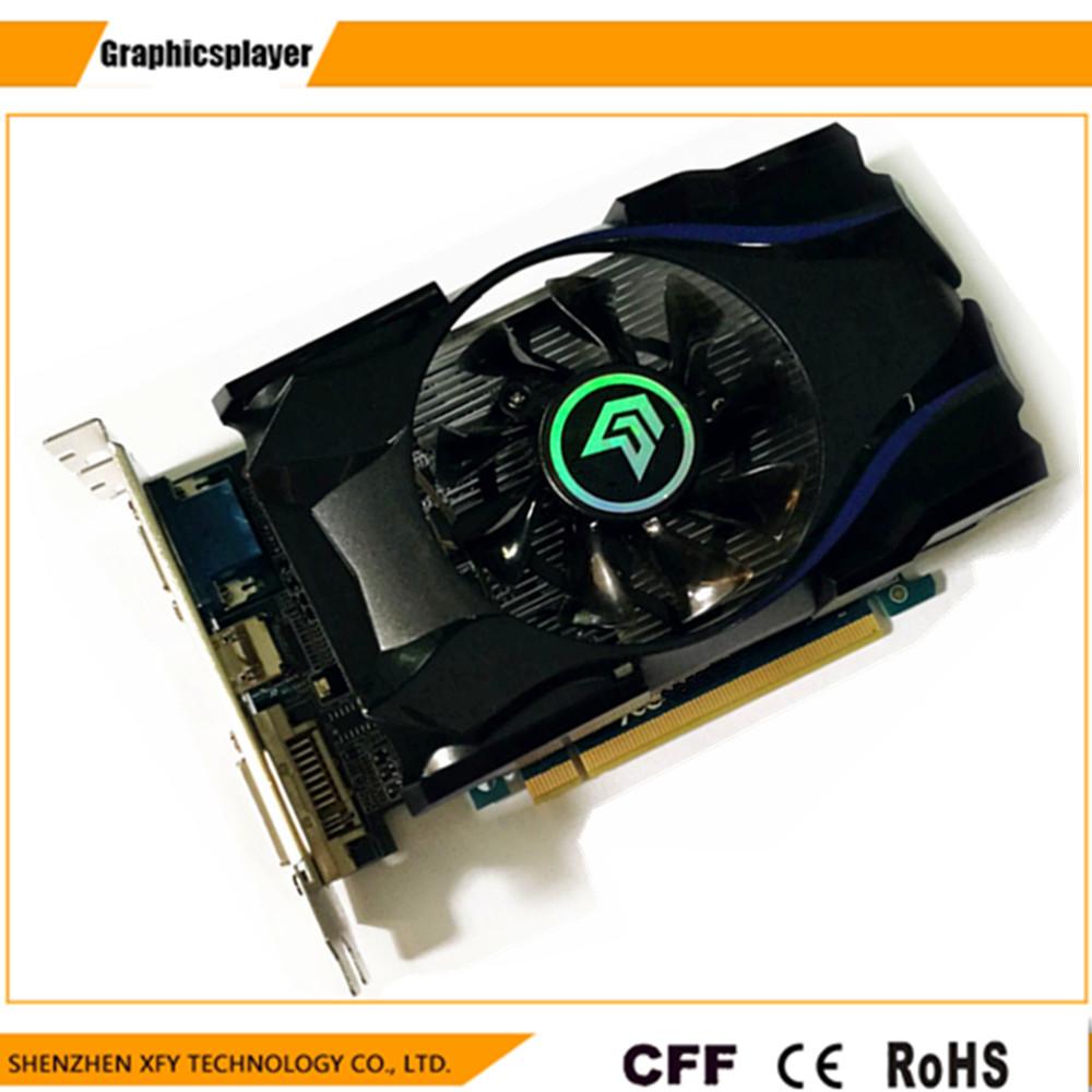 Prix pour 1 gb ddr5 128bit gt630 carte graphique ventilateur placa de vidéo carte jeu graphique carte vidéo pour nvidia geforce livraison gratuite