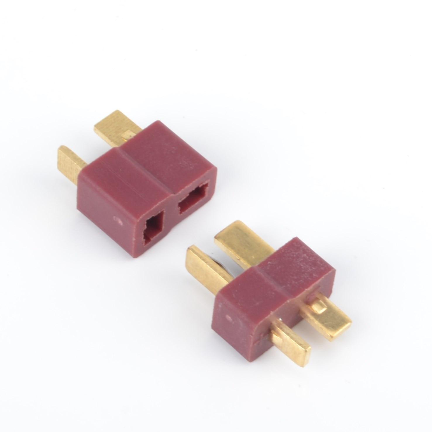 Male /& Female Deans T Plug//Connector//Socket for RC Lipo Battery 12v 24v DC LiPo