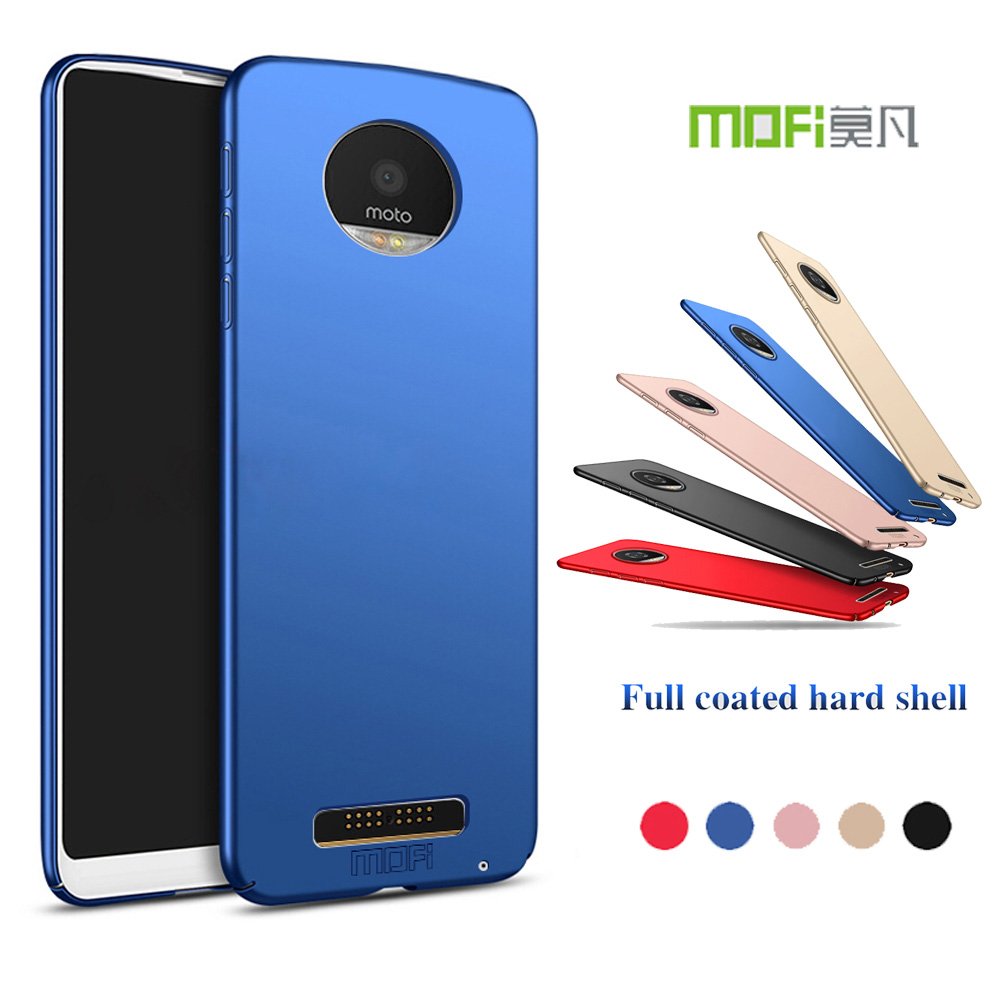 Mofi For Motorola Moto Z Play XT1635 Case MOFI 360 Full Protective Ultra Slim Matte Hard Back Cover for Moto Z Play Phone Shell