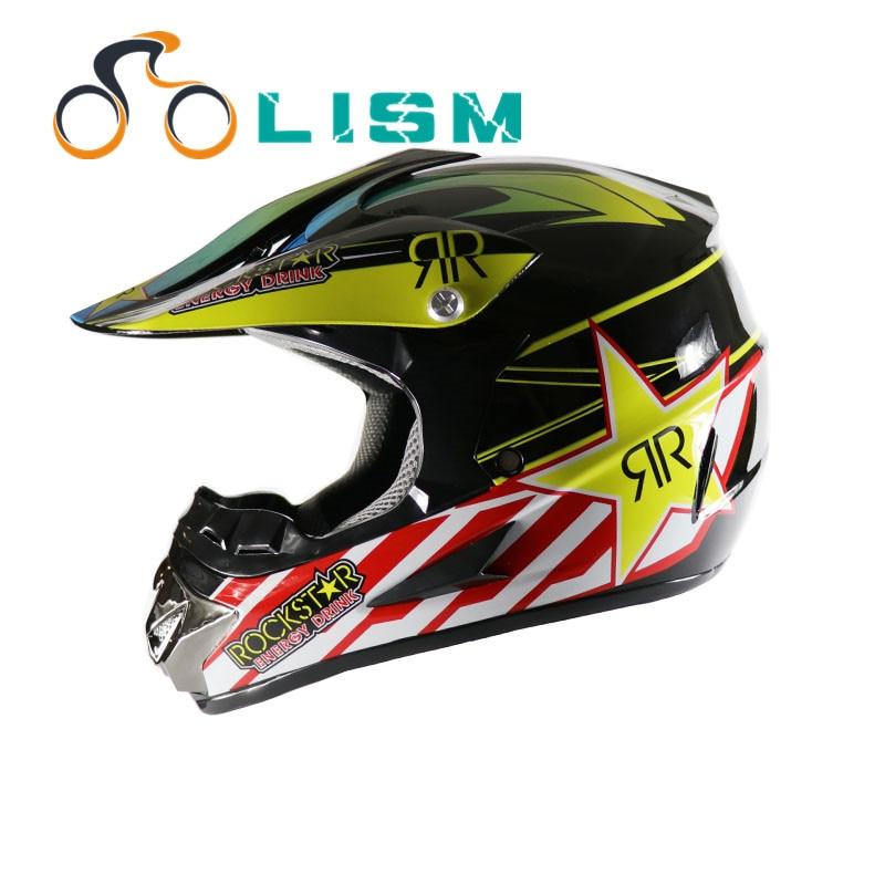 Новая мотоциклетная обувь шлем для взрослых Мотокросс Off Road шлем ATV Байк скоростной спуск Gelmet подходит для Для мужчин Для женщин в горошек
