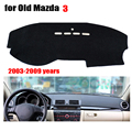 Car dashboard covers mat for Old MAZDA 3 2003 to 2009 Left hand drive dashmat pad dash covers Instrument platform accessories