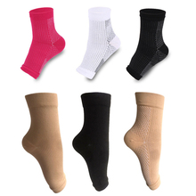 Foot angel anti fatigue compression foot sleeve Ankle Support Running Sports Ankle Brace Sock