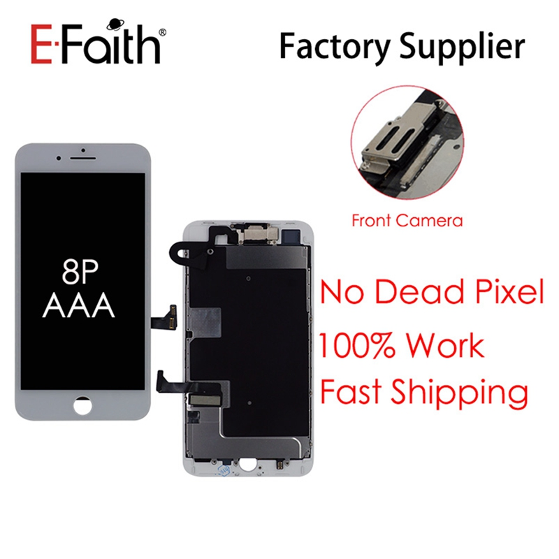 LCD Assembly-Replacement Digitizer Aaa-Screen 3d-Touch Front-Camera iPhone for 8P 8plus