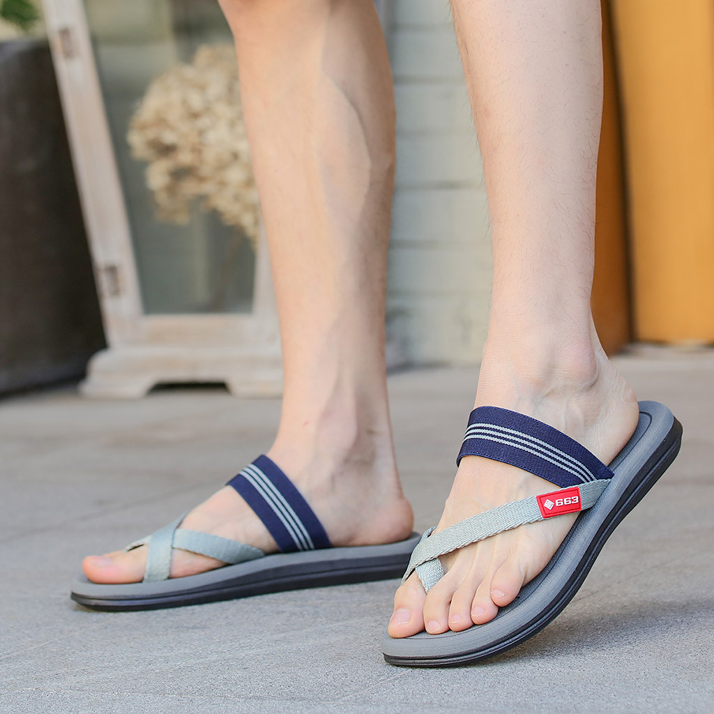 Flip Flop Slippers Belt-Buckle Couples Clip-Toe Men Shoes Casual Women's Comfortable title=