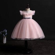 2019 New Children Birthday Tutu Dress For baby Girls Kids Princess Party Clothes Wedding Holiday Wear Ceremony Evening Dress
