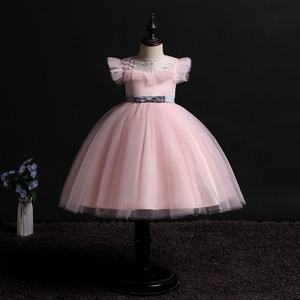 Image 1 - 2019 New Children Birthday Tutu Dress For baby Girls Kids Princess Party Clothes Wedding Holiday Wear Ceremony Evening Dress