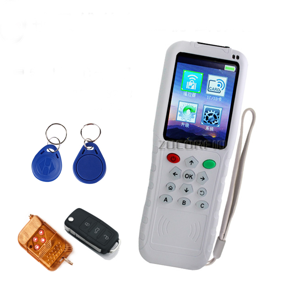 2019 Newest RFID Copier And 300-900MHZ Fixed/Rolling Auto Remote Copier/remote Duplicator