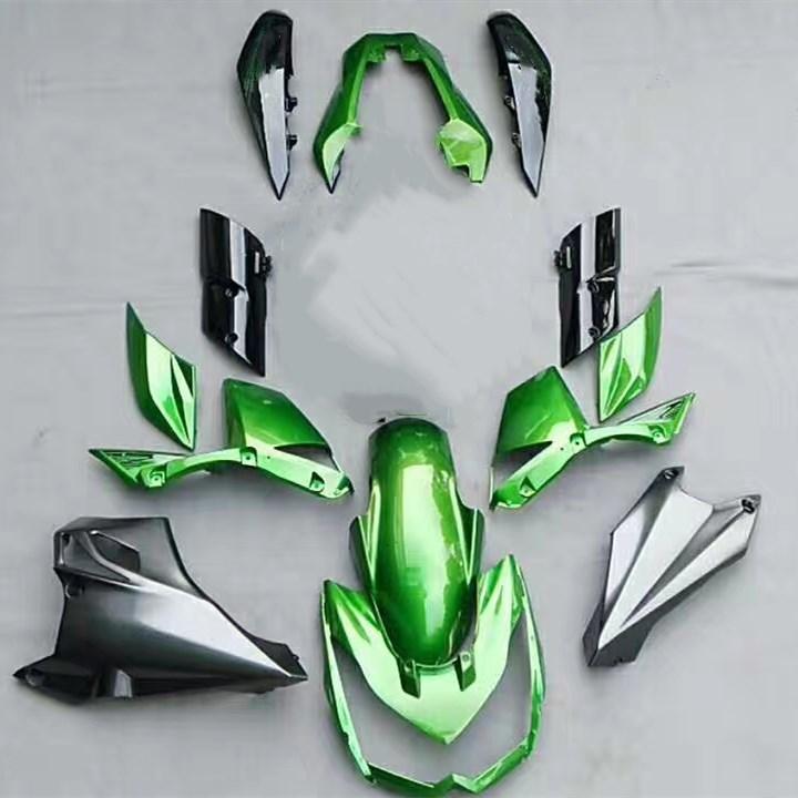 Motorcycle Green Fairing Kit Bodywork For Kawasaki Z1000 Z 1000 2010 2011 2012 2013 10 11 12 13 Fairings Cowl Injection Molding