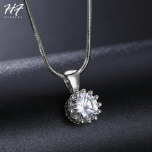 Fashion Crown Pendant Necklace
