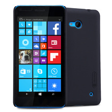 """Nillkin мобильного чехол для lumia 640 pro премьер случае 5""""hard пластиковую крышку обратно для microsoft lumia 640 чехол + Экран Подарок протектор"""