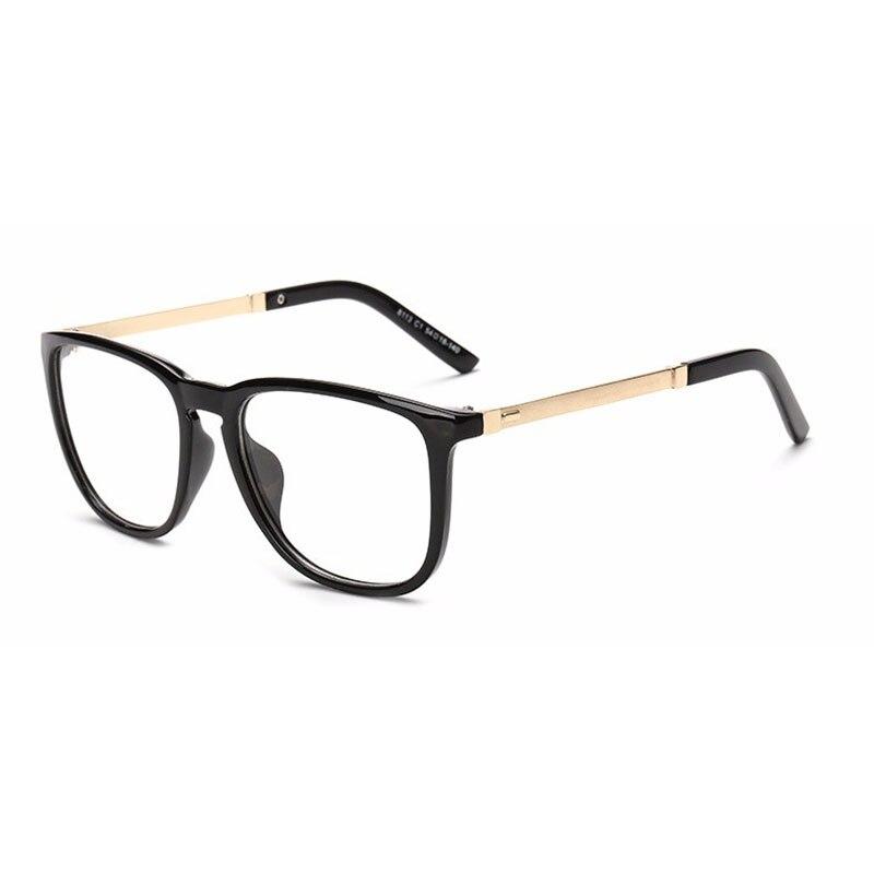 ᗑ】Moda vintage mujeres ojo Gafas marcos espejo llano grandes ...