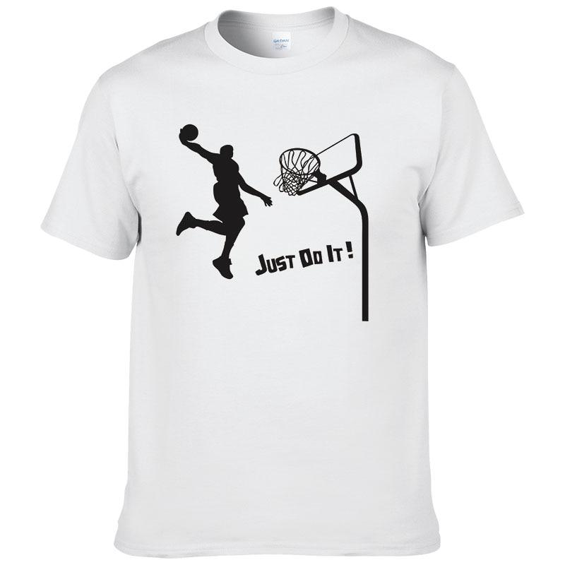 Summer Casual Coton Imprimé Slam Dunk T-shirt Hommes Tirer À Panier À Manches Courtes t-shirt Des Hommes T-shirt T-shirts WNF
