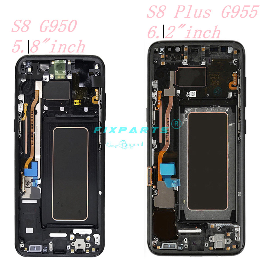ORIGINAL AMOLED for SAMSUNG S8 LCD Display Touch Screen Digitizer Replacement for SAMSUNG GALAXY S8 Plus LCD (3)