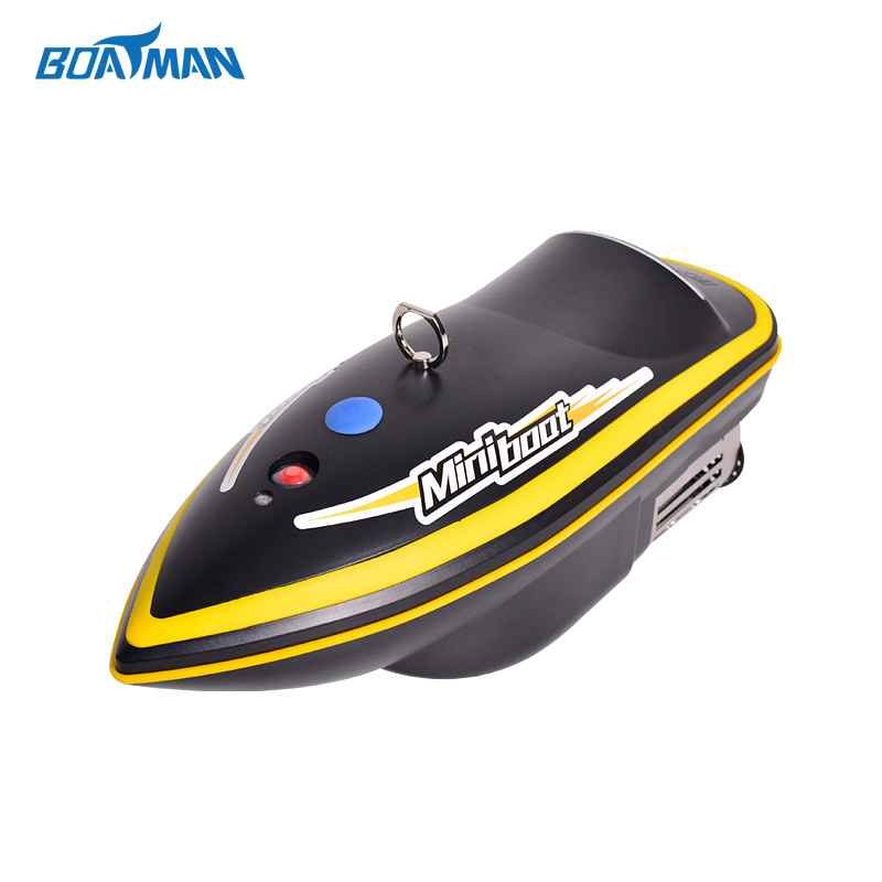 Black color rc fishing bait boat 5hours/7500mah fishing boat lure boat for fishing Wireless remote control bait boat цена и фото