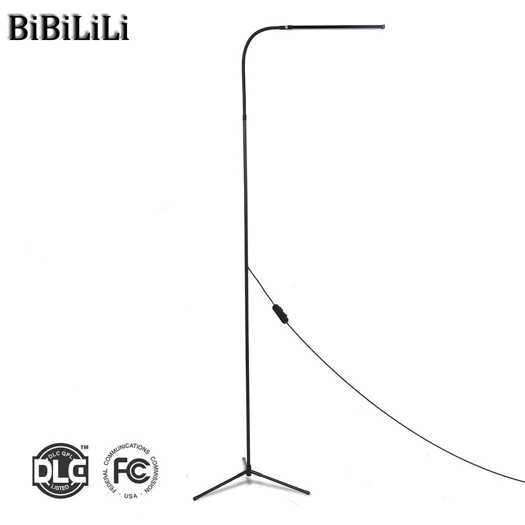 Light with Bedroom Floor USB Length Cool White 1.75M Dimmable LED Lamp Room Reading Standing for 8W Light Living Light LINE Warm f9 modern touch led standing floor lamp reading for living room bedroom with remote control 12 levels dimmable 3000 6000k black