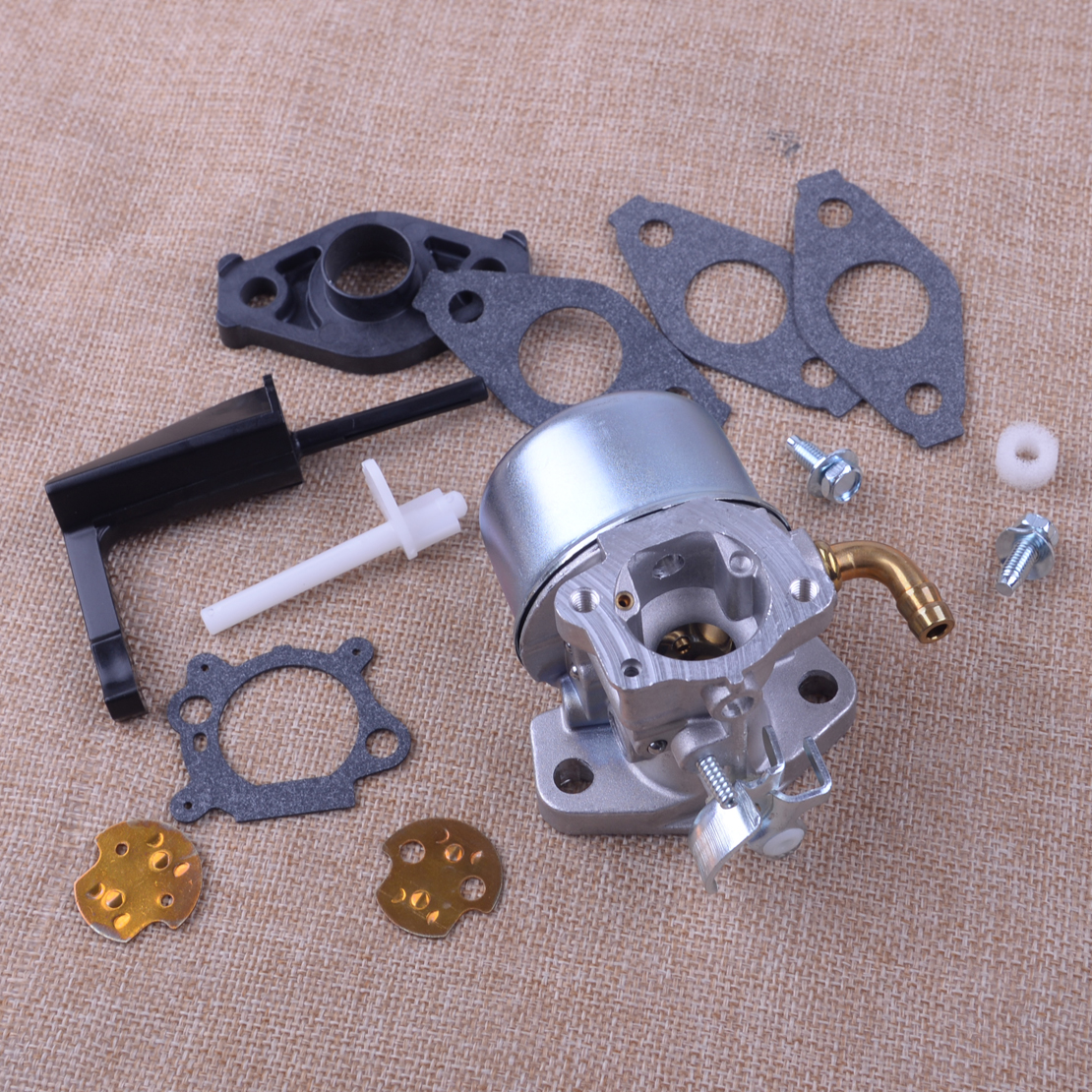 Letaosk Carb Carburetor Assembly Kit Fit For Briggs