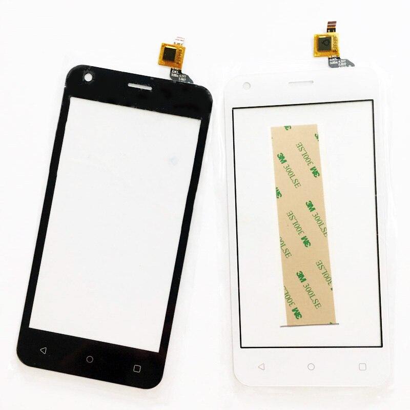 4.5 Испытано телефон сенсорный Экран для Fly fs454 FS 454 Nimbus 8 Сенсор Сенсорный экран планшета спереди Стекло touch Панель + 3 М клей ...