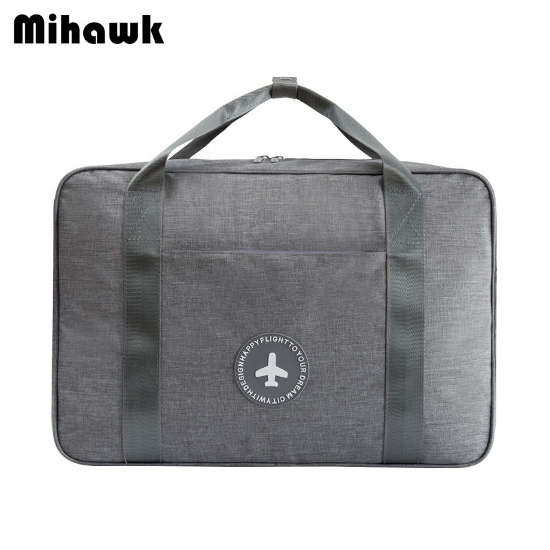 Mihawk Waterproof Travel Bags Portable Unisex Luggage Organizer Clothes Shoes Classification Tote Stuff Zipper Pouch Accessories