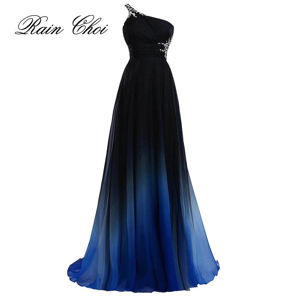 elegante abendkleid 2020 lila formale prom kleider schwarz party kleid blau  lange abendkleider