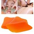 1 Pcs Corpo Ferramentas Gua Sha Raspando Placas de Cuidados de Saúde Massagem Almofada pescoço Para Trás a Cabeça Resina Rosto Corpo Relaxar Massager Do Pé Natural Ferramenta