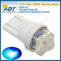 Super Branco 6.3 V 1 w Piranha Luz Pinball LED w5w wedge w5w t10 #555 Não flicking 500 Unidades