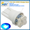 Super White 6.3 В 1 Вт Свет Piranha Пинбол LED t10 #555 Не стряхивая w5w клин w5w 500 Единиц