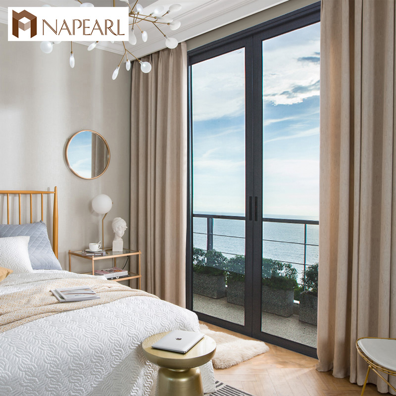 NAPEARL Bedroom Curtain High Shading Blackout Curtain For