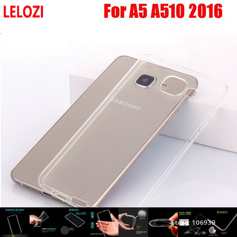 LELOZI Soft Transparent TPU Clear Silicone Fundas Etui Case Cover Coque For Samsung Gala ...
