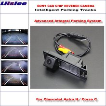 Liislee Dynamic Guidance Camera For Chevrolet Astra H / Corsa C / Vectra C / Viva G / Zafira B / Parking Intelligentized lyudmila wireless camera for chevrolet astra h corsa c vectra c viva g zafira b car rear view camera hd reverse camera