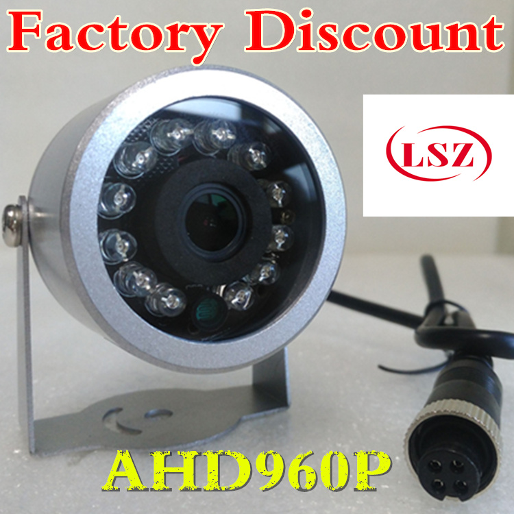 Freight car surveillance camera  infrared waterproof AHD rearview camera  960P high-definition car video direct sales