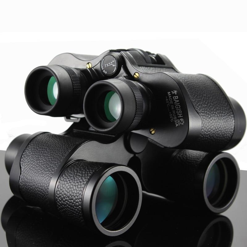 All metal BAIGISH Outdoor Folding Binoculars Telescopes Hunting field glasses NO Night Vision Not infrared