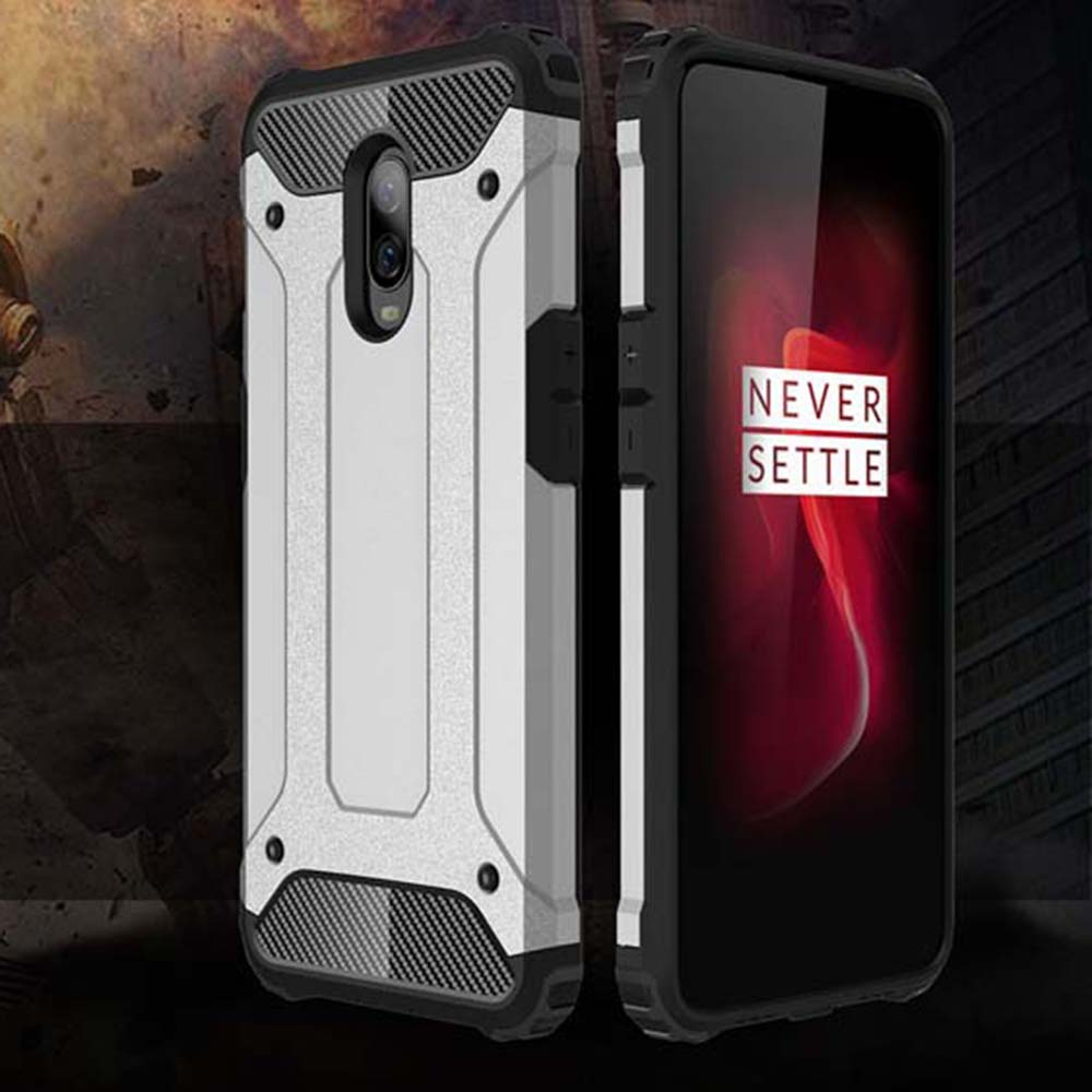 Shockproof Armor Coque Cover 6.41For <font><b>Oneplus</b></font> 6T Case For <font><b>Oneplus</b></font> One Plus 6T Oneplus6T <font><b>A6013</b></font> Phone Back Coque Cover Case image