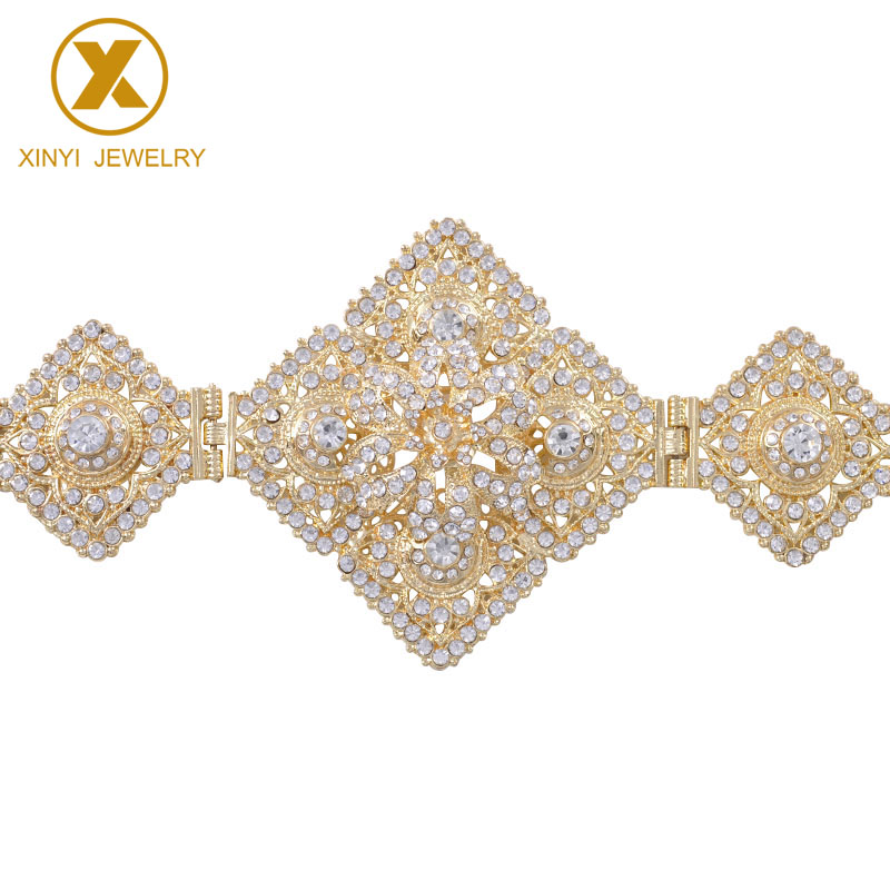 All-Diamonds Belt Rhinestone Body Jewelry Adjustment Length European Belt
