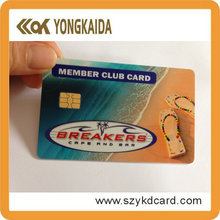 Yongkaida  2K PVC card RFID Contact Smart Card ATMEL24C02 IC Card printable card