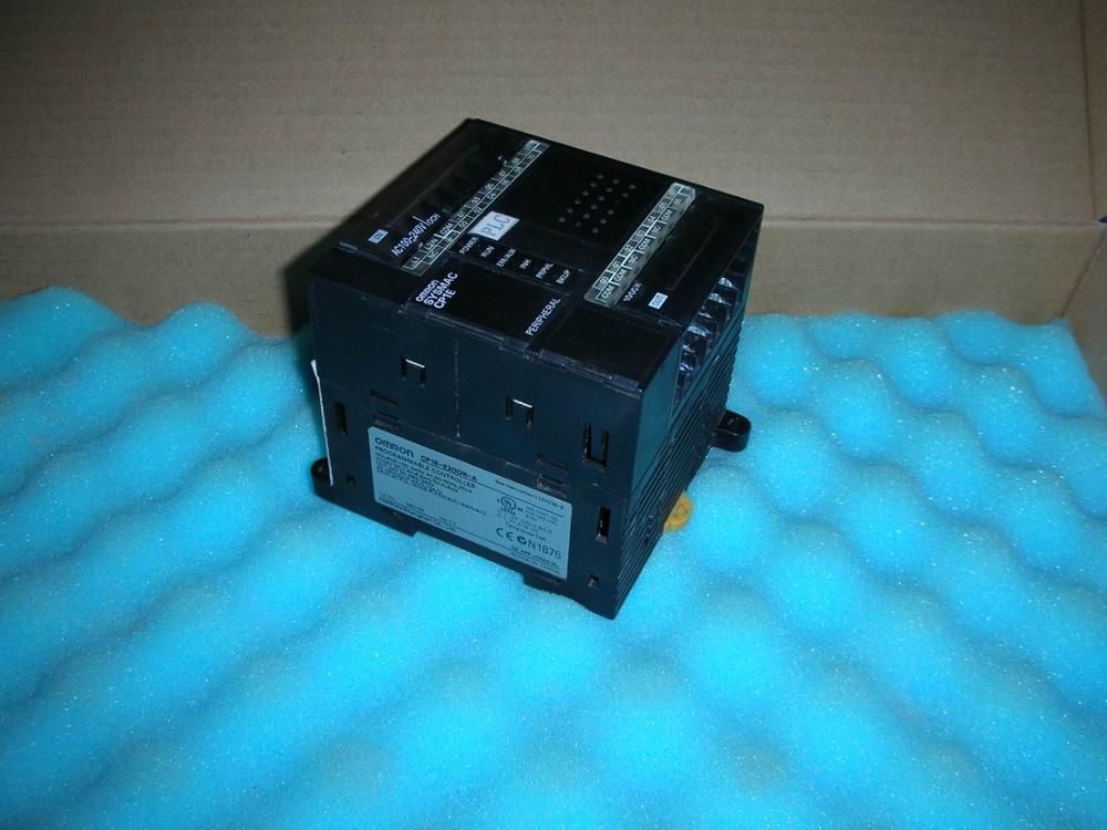 1PC USED OMRON PLC CP1E-E200R-A 1pc used ab plc 1734 ow2